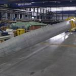 Vestas blijft V164 rotorbladen testen