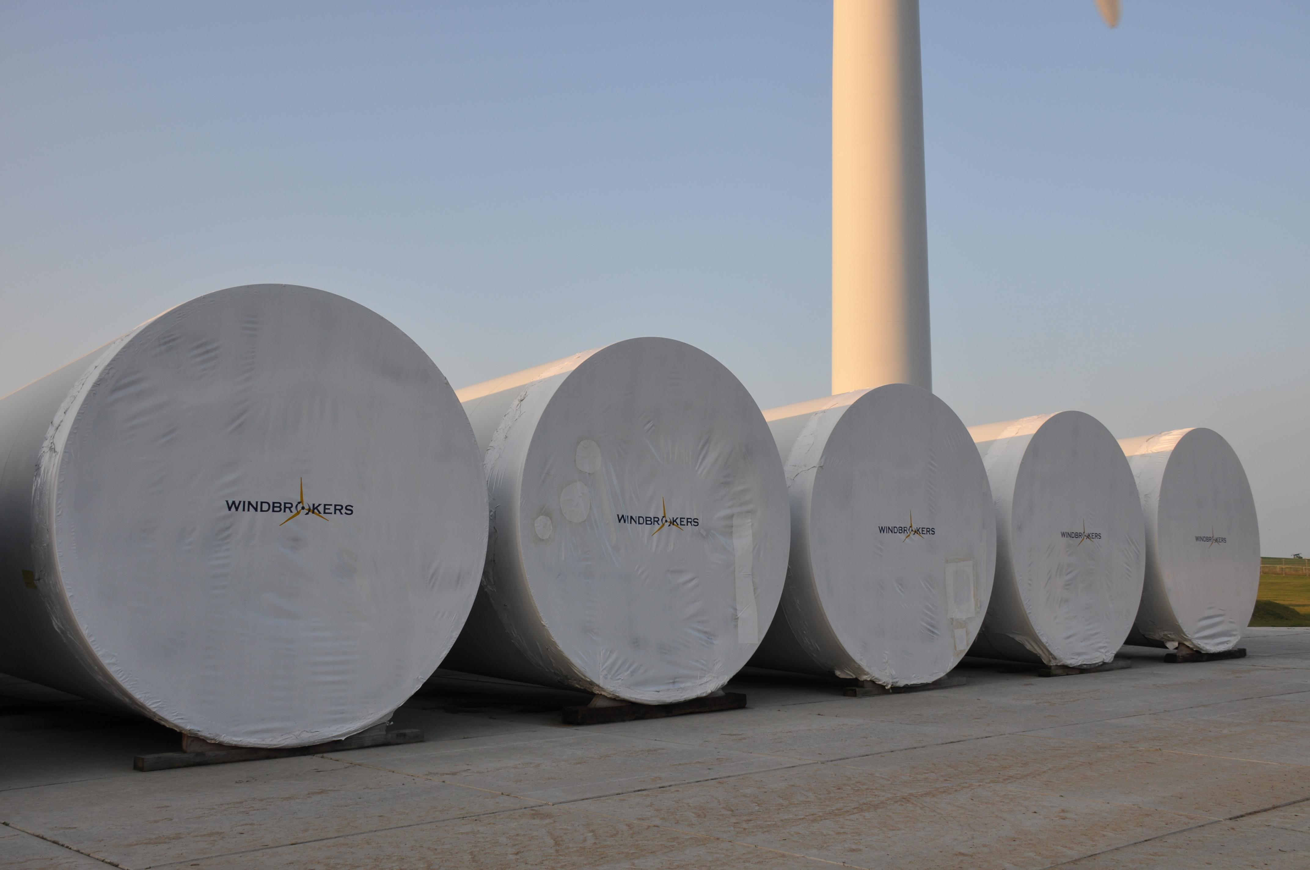 Windcentrale Harlingen en Windbrokers