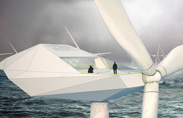 appartent offshore windturbine