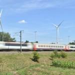 1e Belgische trein rijdt op windenergie