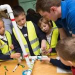 Leerlingen Elst bezig met windenergie