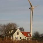 Windturbine Grote Sloot stopt met draaien