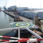 Helikopterplatform Eemshaven omstreden