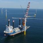 Eerste Zeewind windpark Luchterduinen is voor NS