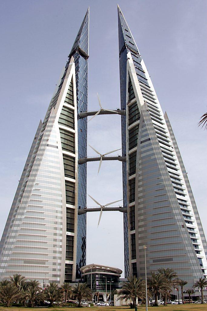 BAHRAIN-WTC-WIND TURBINES