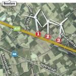 Belgisch Zonnebeke negatief over windpark in Geluwe
